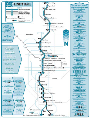 Small Light Rail Map
